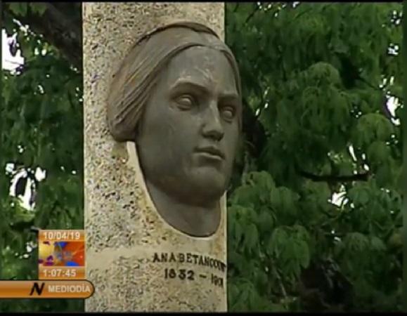 Desde Camagüey y en nombre de Cuba, homenaje a Ana Betancourt (+ Audio)