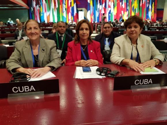 Cuba denuncia ante Asamblea Interparlamentaria recrudecimiento del bloqueo estadounidense