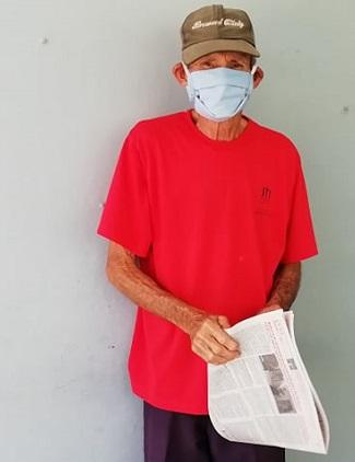 El abuelo Siro enfrenta con valentía el SARS-CoV-2 (+ Audio)