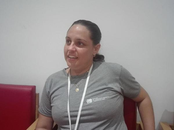 M.Sc. Bioquímicas Aylín Nordelo Valdivia, jefa de Investigación y Desarrollo.