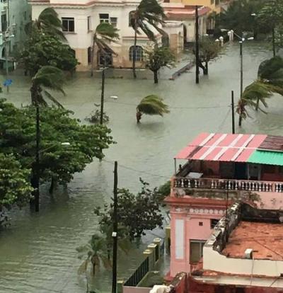 Efectos de Irma continúan sintiéndose desde Camagüey hasta La Habana (+Video)