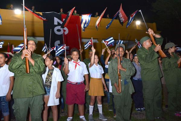 Reeditan en Santiago de Cuba asalto simbólico al Cuartel Moncada