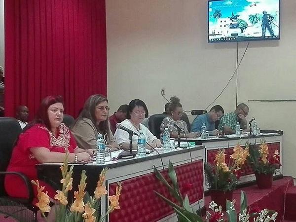 Rechazan en Asamblea Provincial del Poder Popular política agresiva de EE.UU. contra Cuba (+ Fotos y Tuit)