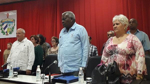Participa Presidente del Parlamento cubano en Asamblea de Gobierno en Camagüey (+ Fotos)