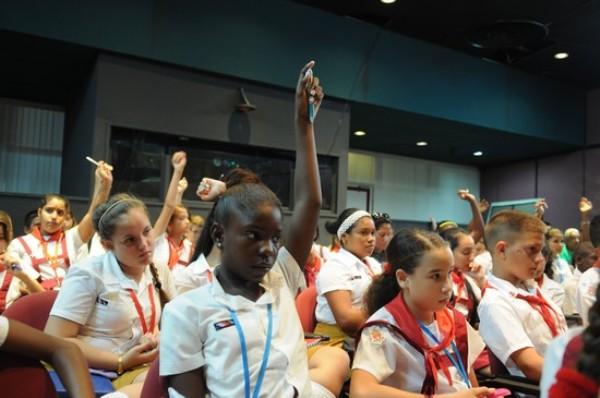 Cuba: Asamblea Pioneril concluye en el Día de los Niños