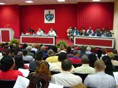 Asamblea Provincial del Poder Popular valora realidad camagüeyana