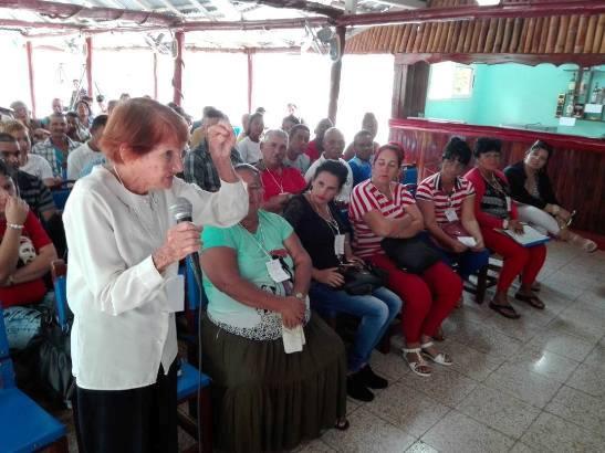Sesionó primera asamblea municipal camagüeyana previa al IX Congreso de los CDR (+ Fotos)