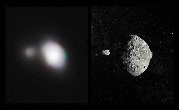 Captan imagen de asteroide que se acercó a la Tierra