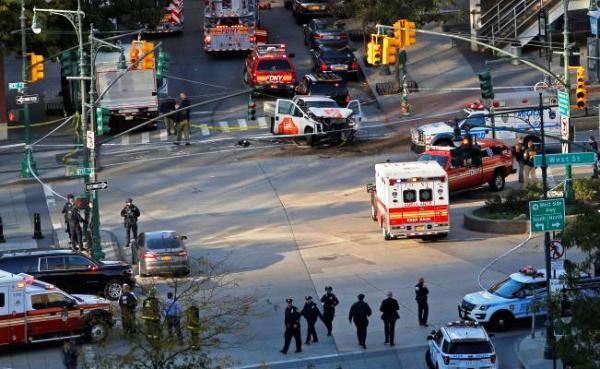 Adjudican atentado terrorista en Nueva York al Estado Islámico