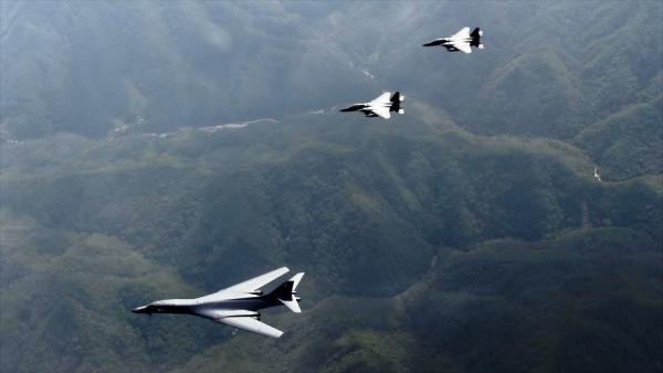 EE.UU. realiza maniobras aéreas en península Coreana