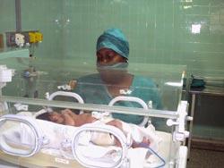 Uso racional de recursos sustituye importaciones en hospital pediátrico camagüeyano