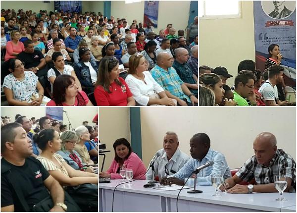 Denuncian en Universidad de Camagüey daños del bloqueo de EE.UU. contra Cuba
