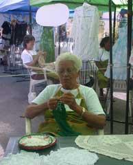 Aurora Molina Fleitas, tejedora de mente limpia y manos incansables