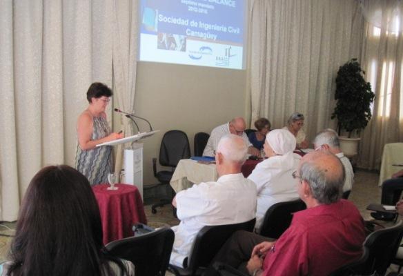 Hacia su VIII Congreso ingenieros camagüeyanos