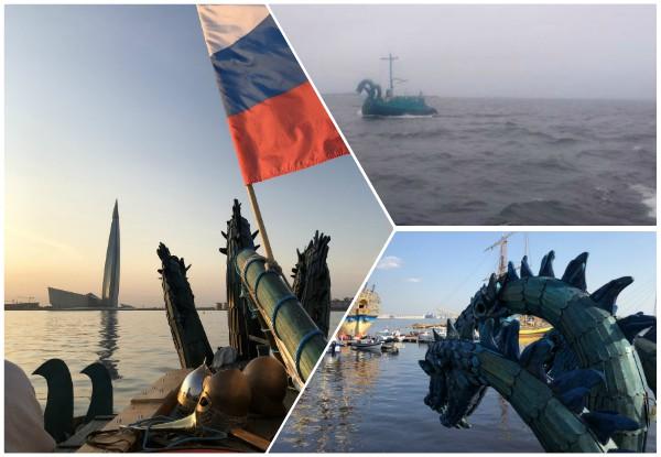 Confunde Guardia Costera finlandesa a barco medieval ruso con monstruo marino