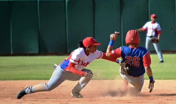 Camagüeyanas en equipo Cuba que participa en torneo internacional de Béisbol