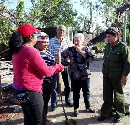 Constatan recuperación del fondo habitacional en municipio camagüeyano  (+ Fotos)