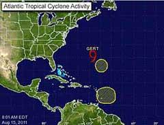 Clima Ciclón Bermudas Tropical Servicio De Suspende Alerta BCdxoe