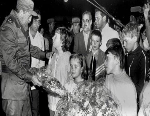 Díaz-Canel recuerda accidente nuclear en Chernóbil y colaboración de Cuba