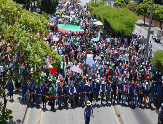 Indígenas colombianos siguen en resistencia en contexto del paro nacional
