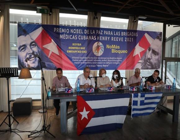 Suman 231 mil firmas de apoyo a la solicitud: ¡CUBA NOBEL SÍ/ BLOQUEO NO!