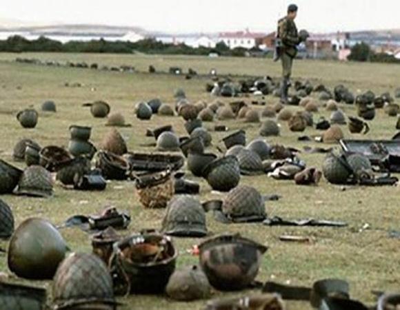 Argentinos rememoran aniversario 39 de la guerra de las Malvinas