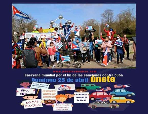 Demandan en Bélgica fin de bloqueo de EE.UU. a Cuba