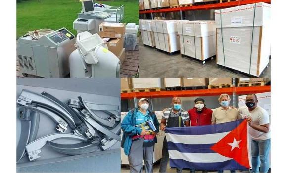 Proyecto de solidaridad en Bélgica prepara contenedor con insumos médicos para Cuba