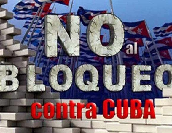 Respaldará encuentro virtual demanda internacional contra bloqueo a Cuba