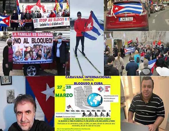 Resaltan en Europa movilización mundial contra bloqueo a Cuba