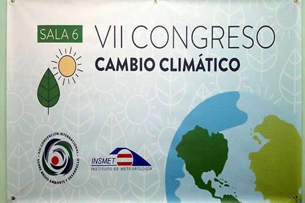 Sesiona en Cuba VII Congreso de Cambio Climático