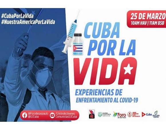 Cuba presenta estrategia de enfrentamiento a la COVID-19 en Foro de São Paulo