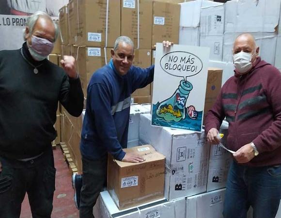 Parte rumbo a Cuba cargamento de jeringas y agujas donadas desde Argentina(+ Foto)
