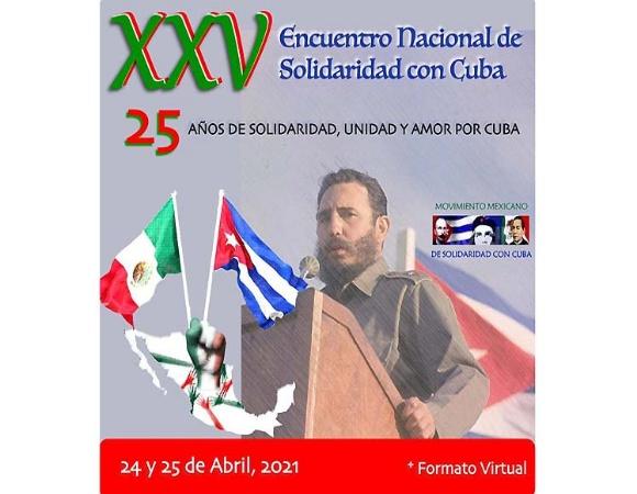Inaugurarán hoy XXV Encuentro Nacional de Solidaridad con Cuba en México