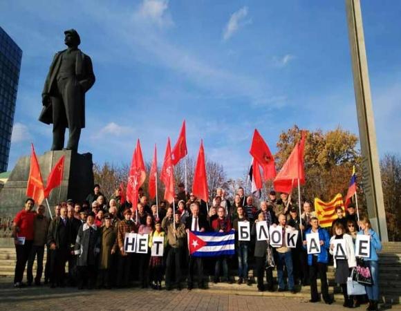 Ciudades rusas se unirán a Caravana Internacional contra bloqueo norteamericano a Cuba