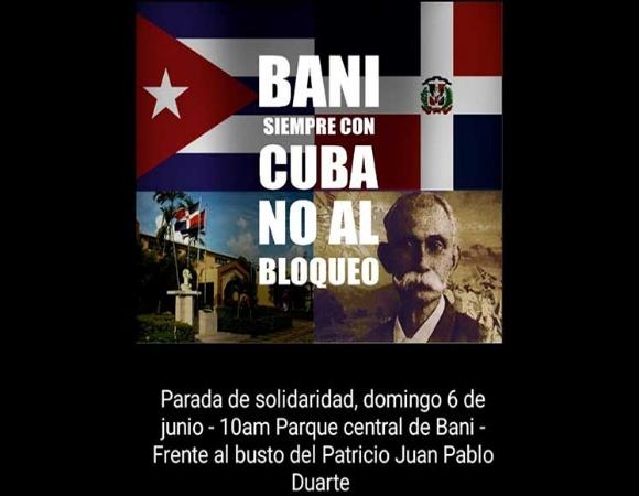 Condenan en Dominicana bloqueo económico de EE.UU. contra Cuba