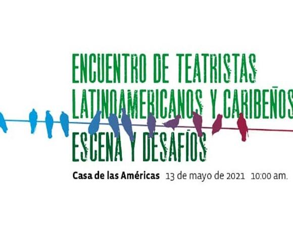 Sesiona en Cuba Encuentro de Teatristas Latinoamericanos y Caribeños