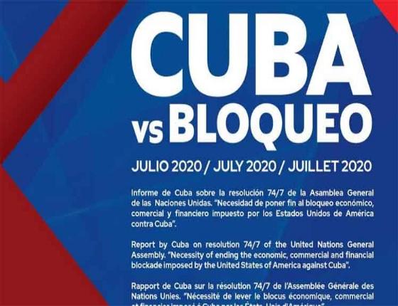Le blocus étasunien affecte le commerce extérieur de Cuba