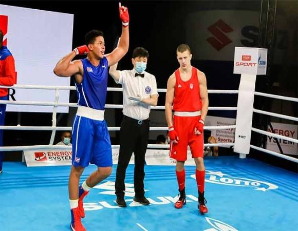 Cubano subirá al ring por título para América en mundial juvenil de boxeo