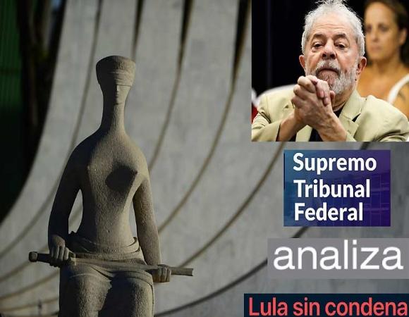Retoma Supremo Tribunal Federal de Brasil juicio sobre condenas anuladas a Lula