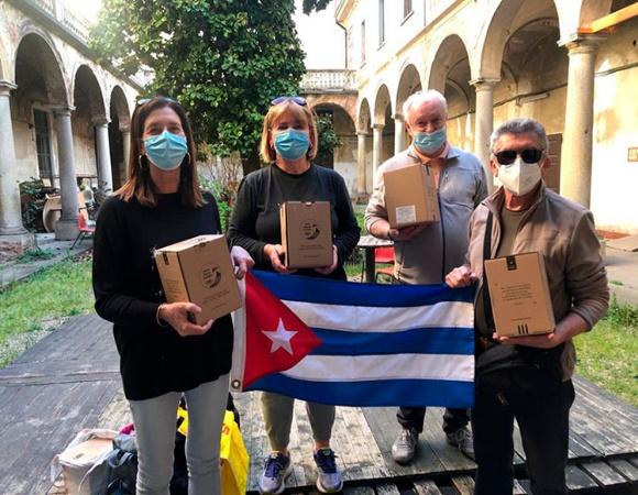 Asociación italiana recauda fondos para producción de vacunas en Cuba (+ Fotos)