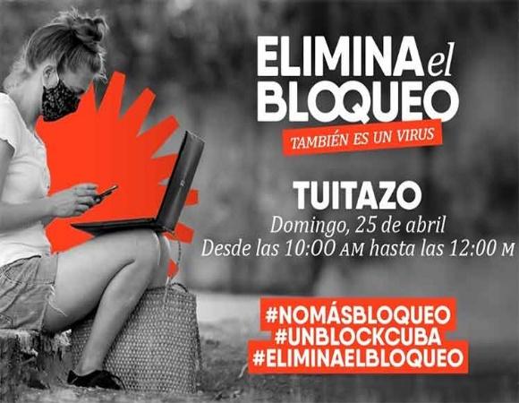 Participarán provincias cubanas en caravana mundial contra bloqueo