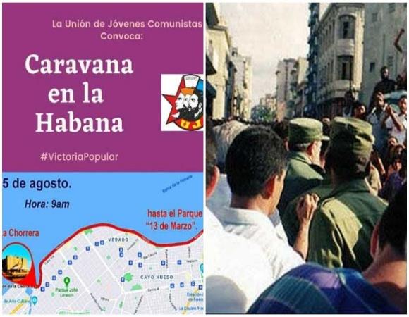 Convocan en Cuba caravana por la paz, amor y solidaridad