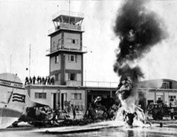 USA bombings 60 years ago rememberd in Cuba