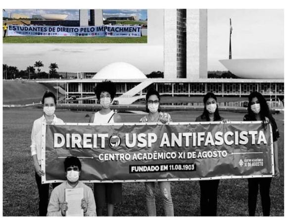 Piden estudiantes de Derecho en universidades brasileñas destitución de Bolsonaro