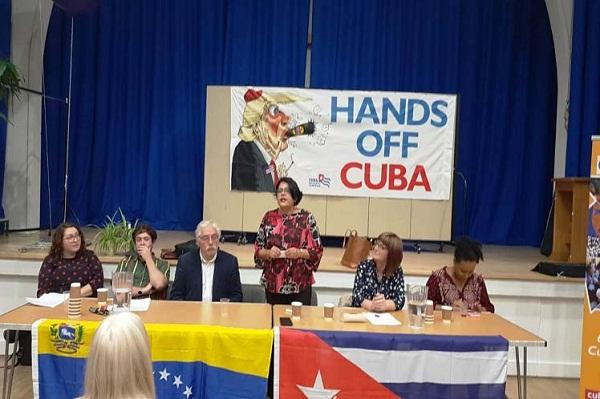 Expresan solidaridad con Cuba y Venezuela laboristas británicos