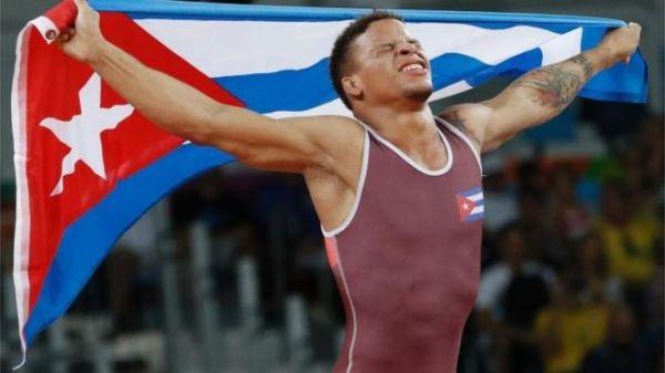 Luchador Borrero logra primera medalla de oro para Cuba en Río (+ Fotos)