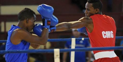 Dominó Camagüey zonal central de la VI Serie Nacional de Boxeo