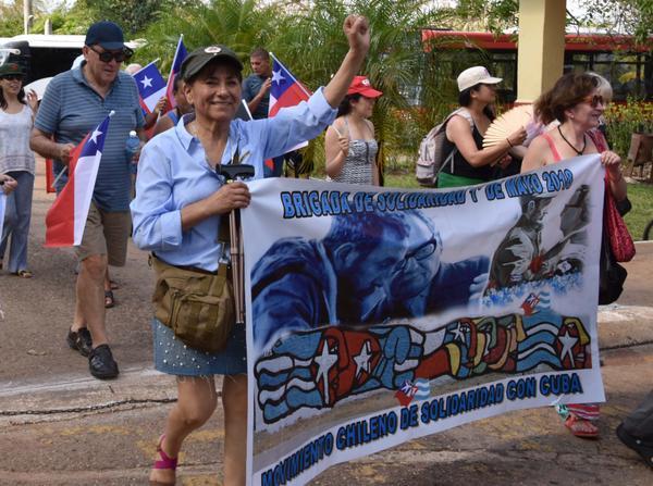 En Camagüey, amigos solidarios del mundo