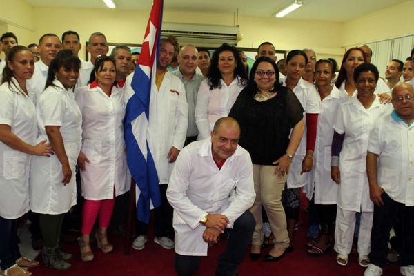 Agradece Brigada médica cubana en Perú Premio de la OMS